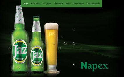 jaz beer website