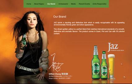 jaz beer ambassador