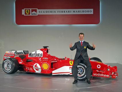 michael schumacher is back in F1