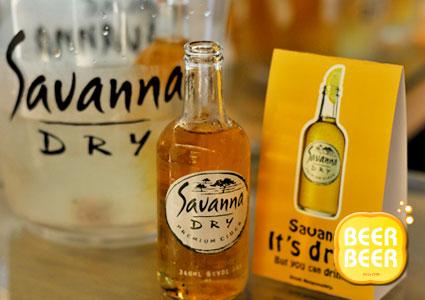 savanna premium cider launch @ Carlsberg Brewery Lounge